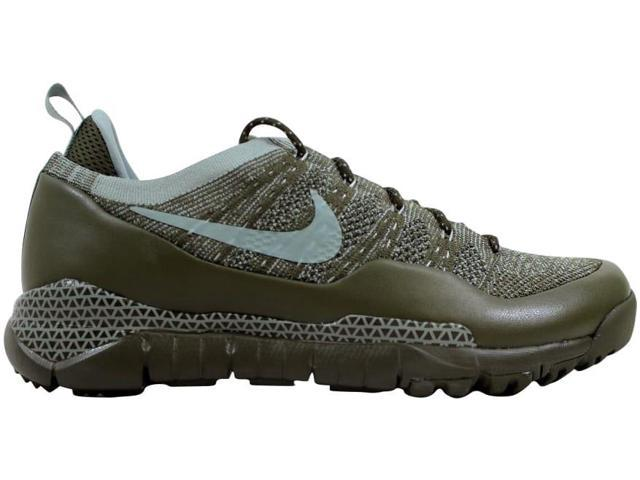 5a3d604411a0 Nike Men s Lupinek Flyknit Low Cargo Khaki Mica Green 882685-300 Size 9