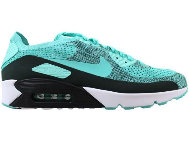 aabebbad4f Nike Men's Air Max 90 Ultra 2.0 Flyknit Hyper Turquoise875943-301 Size 9.5