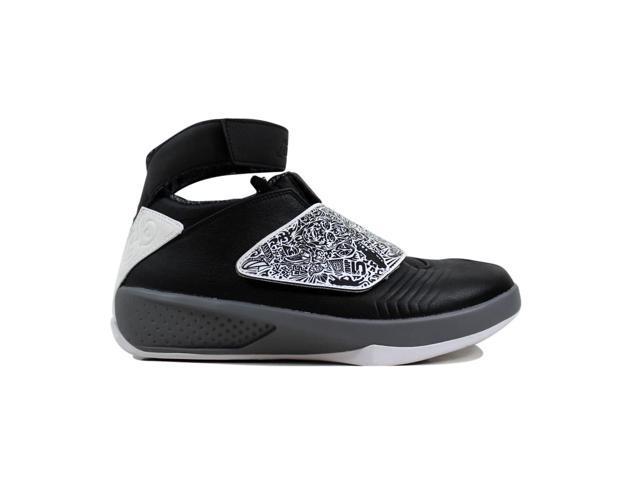 74704dae9c7a Nike Men s Air Jordan XX 20 Black White-Cool Grey Playoff 310455 ...