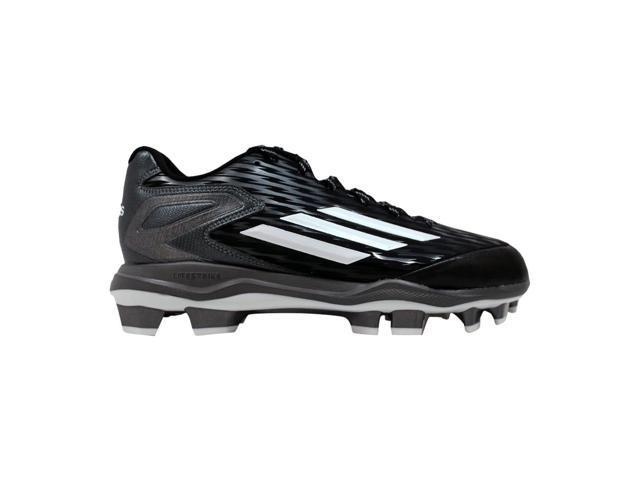 hot sale online b0985 188de Adidas Power Alley 3 TPU Black White-Tech Grey S84747 Men s Size 11.5