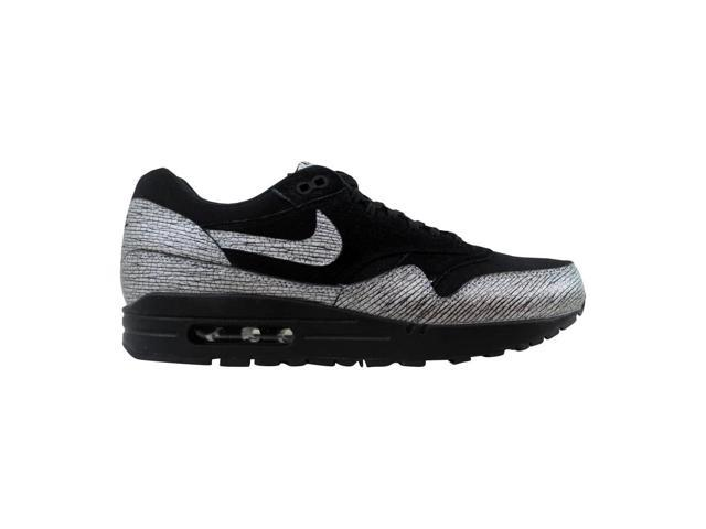 new product 18c2b 84b18 Nike Air Max 1 Premium Black Metallic Hematite-Black 454746-005 Women s  Size 5