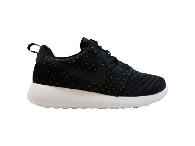 premium selection 7e6fa b51d1 Nike Roshe One 1 SE Black Black-Volt 844687-001 Men s Size 9.5