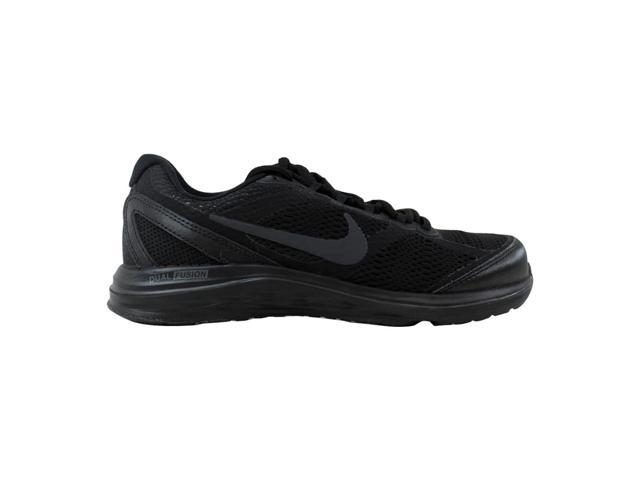 f2d3e9af465 Nike Dual Fusion Run 3 Black Black-Anthracite 653594-020 Women s Size 6