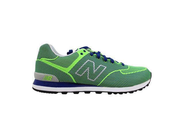 best website 8cc4f 9ecdd New Balance 574 Woven Green/Blue ML574GB Men's Size 8 - Newegg.com