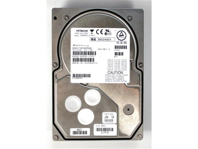Refurbished: HDD, 72GB, HITACHI DKR2D-J72FC, HDA REV C, F/W REV  D7F5 -  Newegg com
