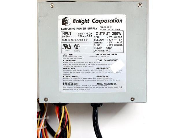 refurbished 200w power supply en 820712 ptp 2005 rh newegg com