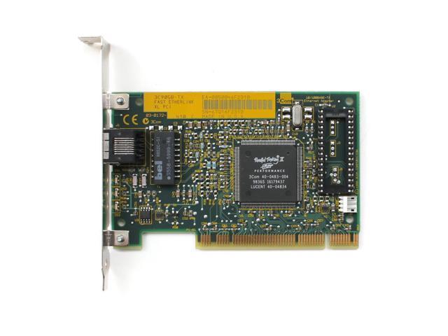 Refurbished 3c905b Tx Fast Etherlink Xl Pci 03 0172 410