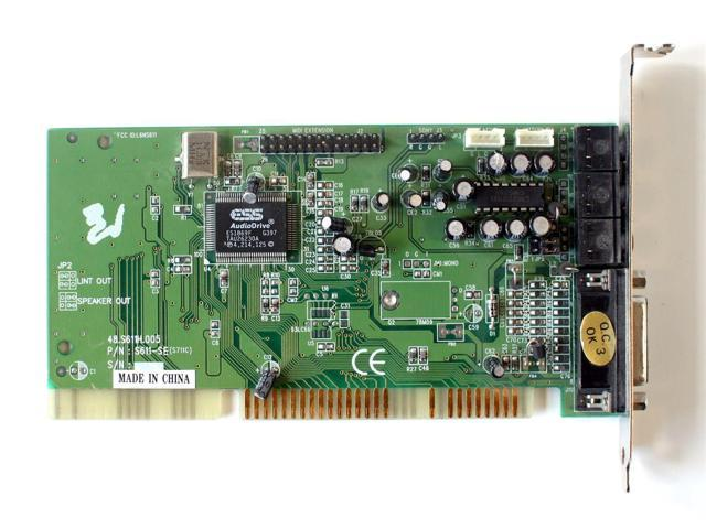 ESS ES1869F SOUND CARD DOWNLOAD DRIVER