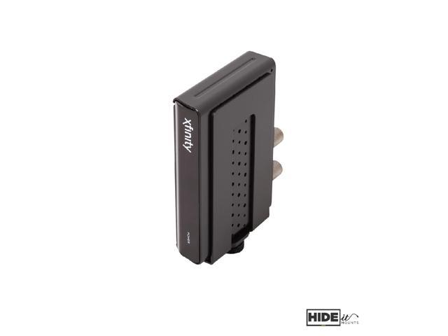 Adjustable Small Device Wall Mount Made in the USA HIDEit Uni-S Black