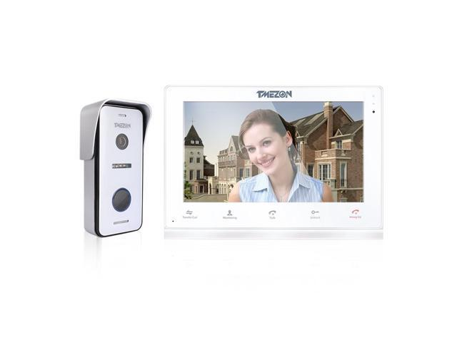 Tmezon 10 Inch Touch Screen Wirelesswired Wifi Ip Video Door Phone