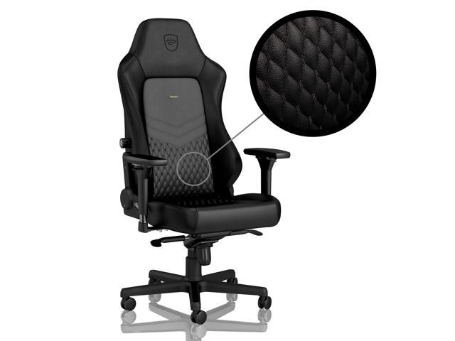 noblechairs HERO Real Leather Series Gaming Chair Black