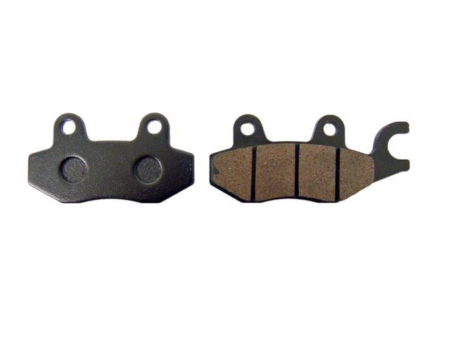 CRU Brake Pads Front Left Kawasaki Bayou 89 05 KLF300 93 99 KLF400 ReplacesFA165