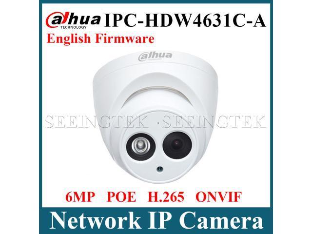 Dahua POE 6MP Dome IP Camera IPC-HDW4631C-A IR 30m H 265 Built-in MIC IP67  Onvif English firmware 6 0 Megapixel 3 6mm - Newegg ca