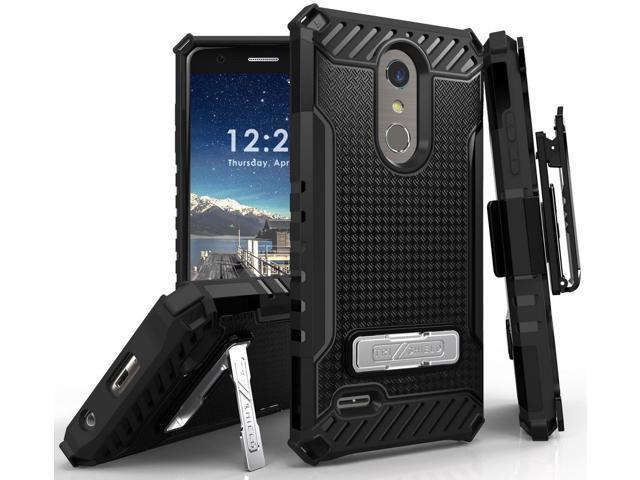 Black Case + Belt Clip Holster for LG K30, Phoenix Plus, Premier Pro,  Harmony 2 - Newegg com