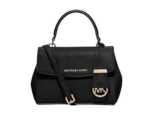 dae3352ec92f MICHAEL Michael Kors Ava Xs Crossbody Saffiano Leather 18K
