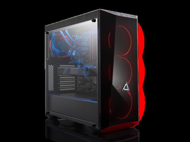 CLX SET GAMING Liquid cooled Intel i7-8700K 3 7GHz (6 Cores) 16GB DDR4 2TB  HDD & 240SSD NVIDIA GeForce GTX 1080Ti 11GB GDDR5 MS Windows 10 Home 64-Bit
