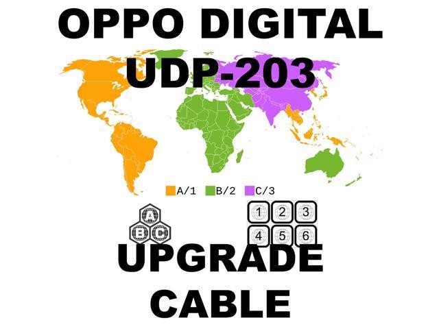 OPPO DIGITAL UDP-203 REGION FREE UNLOCK HARDWARE UPGRADE CABLE KIT NO  SOLDERING - Newegg com