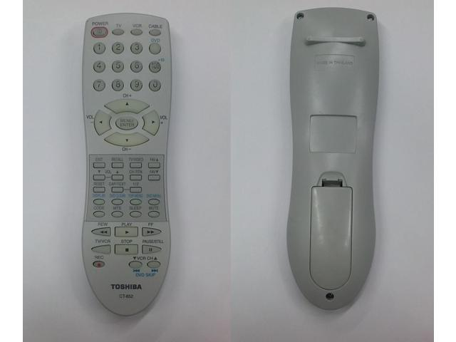 Refurbished: Orignial Toshiba CT-852 / CT852 TV Remote 27A44, 32A15, 32A13,  27A45, 32A14, 32A35 - Newegg com