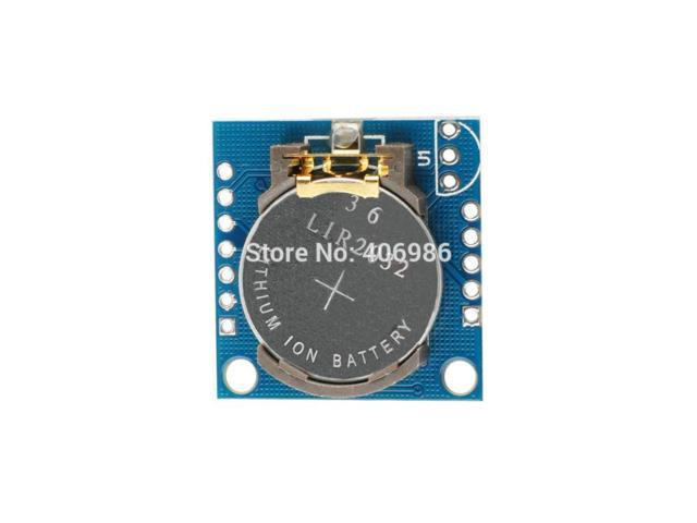 10 pcs/Lot I2C RTC DS1307 AT24C32 Real Time Clock Module for Arduino 51 AVR