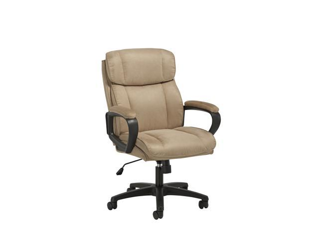Ofm Essentials Collection Plush Microfiber Office Chair In Tan Ess 3082