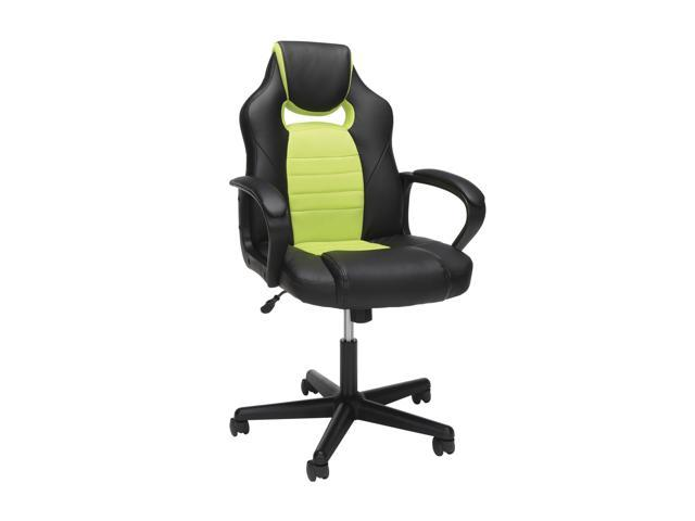 Surprising Ofm Essentials Collection Racing Style Gaming Chair In Green Ess 3083 Grn Uwap Interior Chair Design Uwaporg