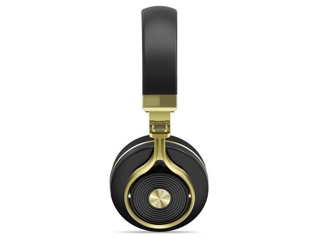 9490beb3db2 Bluedio T3 Extra Bass Wireless Bluetooth 4.1 Stereo Headphones (Gold)