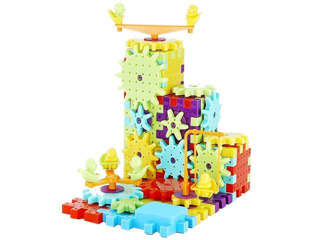 7a9207a9 81pcs Children's Plastic Building Blocks Toys Kids DIY Creative Educational  Toy Gear Blocks Toys for Children - Newegg.com
