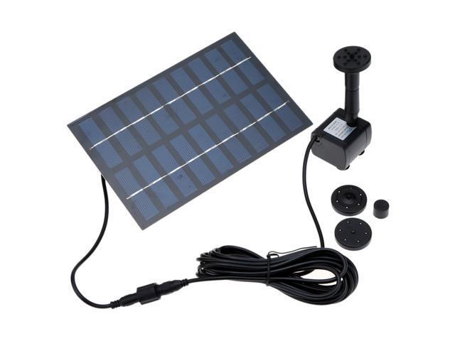 De Riego Jardín 1set Fuente Solar El Energía Plantas Bomba Profesional Kit Sistema Agua eW2IHD9EbY