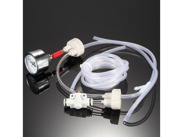 DIY CO2 Generator System Kit with Pressure Air Flow Adjustment Water Plant  Fish Tank Aquarium Co2 Valve - Newegg com