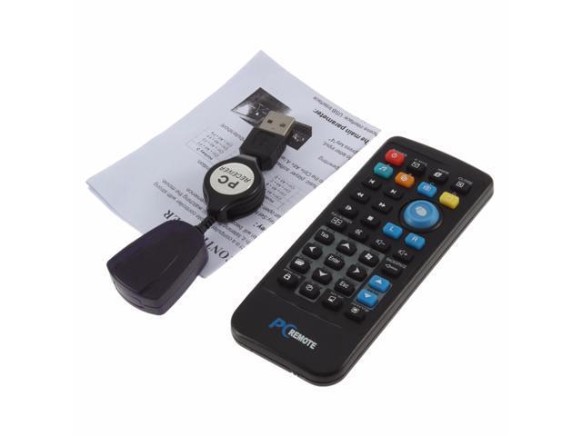 USB Media IR Wireless Mouse Remote Control Controller USB Receiver For  Laptop PC Computer Center Windows Xp Vista - Newegg com
