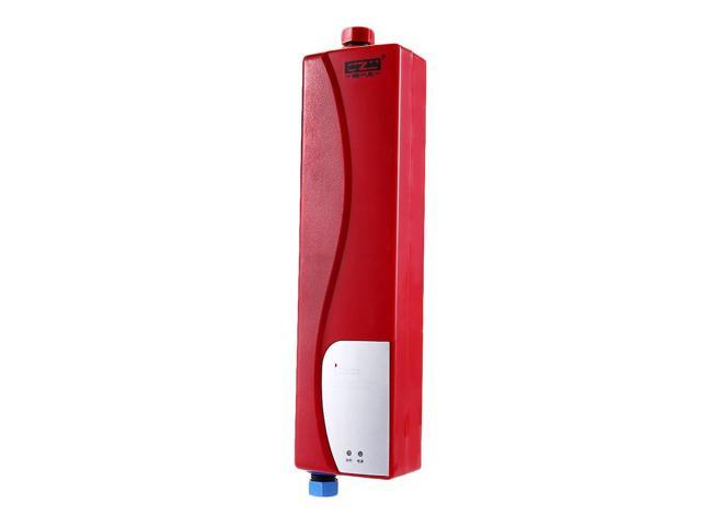 household tankless water heater instant shower electric water