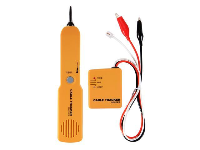 handheld telephone rj11 network cable wire tracker line tracer tester