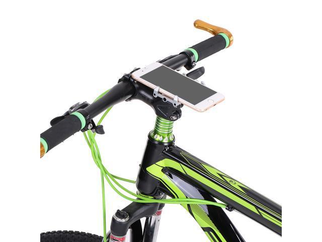 fae057def49b Aluminio aleación bicicleta bicicleta teléfono soporte Handbar Clip soporte  soporte de instalación para 3.5