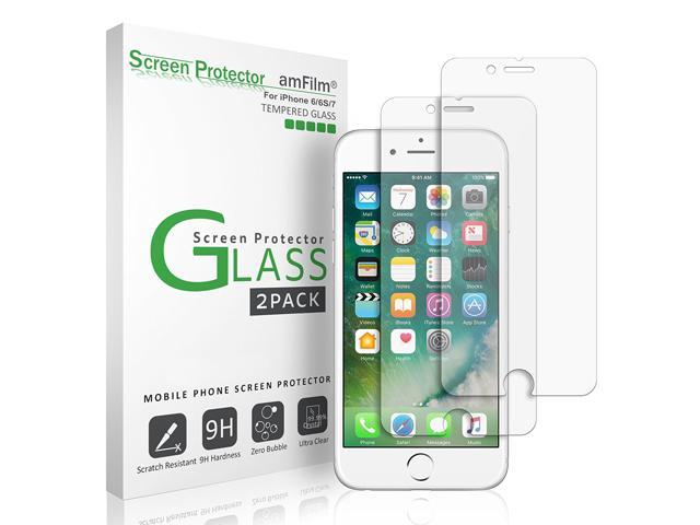 iPhone 7 6 Screen Protector Glass, iPhone 7 Tempered Glass Screen Protector for Apple iPhone