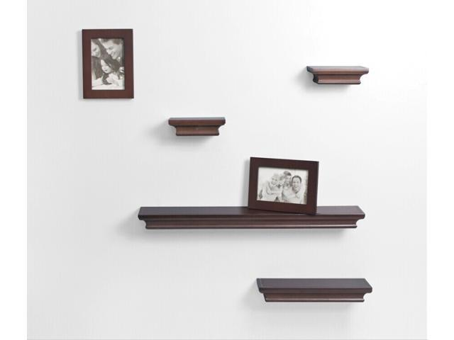 AHDecor 6 pack Decorative Wall Shelves and Photo Frame sets in ...
