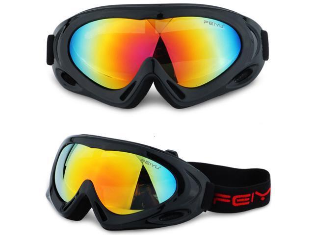 5c0ec9f8ca Gafas de esquí esquí Snowboard Skate lentes viento polvo gafas de  montañismo - Newegg.com