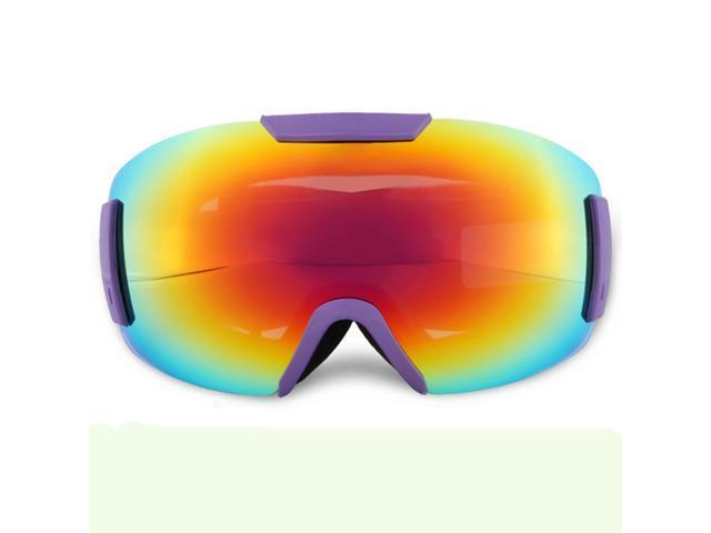 1767619b96 Snowboard gafas esquí gafas gafas de sol doble capa anti-lente esférica  marca grande - Newegg.com