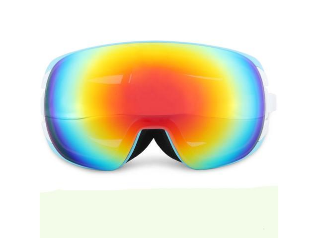 9956ed42c7 Gafas de esquí gafas antiempañamiento de doble esféricas grande - Newegg.com