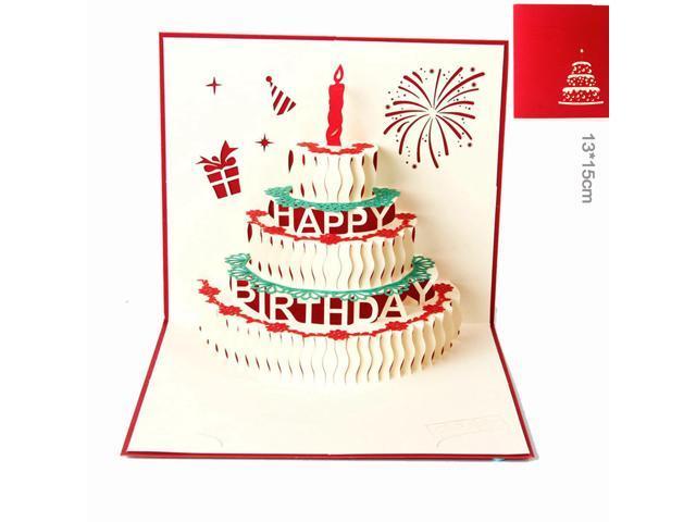 3d Postcard Greeting Cards Birthday Cards Kirigami Paper Handmade