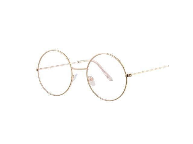 865a46238d Vintage gafas de sol redondas lente espejo hembra Metal círculo de marco de  gafas de sol gafas - Newegg.com
