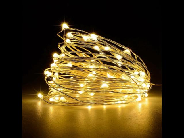WARM WHITE 10m 33ft 100 LED String Lights multi Mode Xmas Halloween Party decor