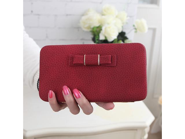 0724bcbf2 Cartera billetera tarjeta hembra porta teléfono móvil Pocket regalos para  mujeres - Newegg.com