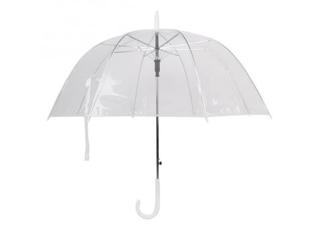 2a5c846491ac EC2WORLD Semi-automatic Umbrellas Parasol Women Plastic EVA Transparent  Sunny Rainy Umbrella - Newegg.ca