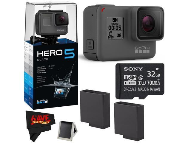 GoPro HERO 5 Black + 32GB Memory Card + Accessories Kit ... 2e133f6e5ce0