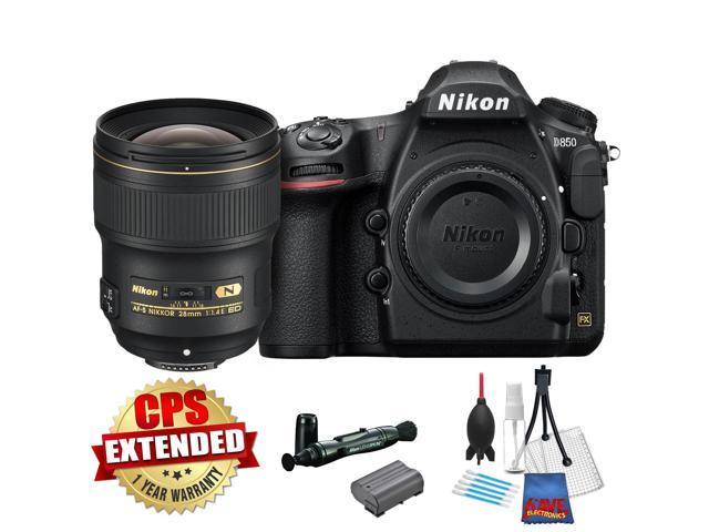 Nikon D850 FX-format Digital SLR Camera Body International Version w/ Nikon  AF-S NIKKOR 28mm f/1 4E ED f/1 4-16 Fixed Zoom Camera Lens - Newegg com