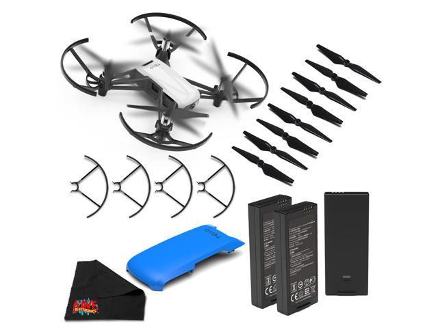 Ryze Tello Quadcopter Drone with 720P HD Camera- Essential Bundle + Blue  Drone Cover - Newegg com