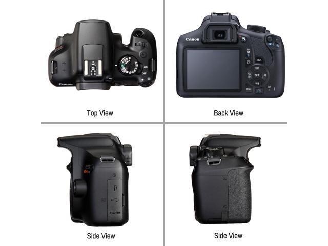 Canon EOS Rebel T6 DSLR Camera with 18-55mm Lens 32GB Memory Card, Camera  Strap, Battery, Case Accessory Bundle - Newegg com