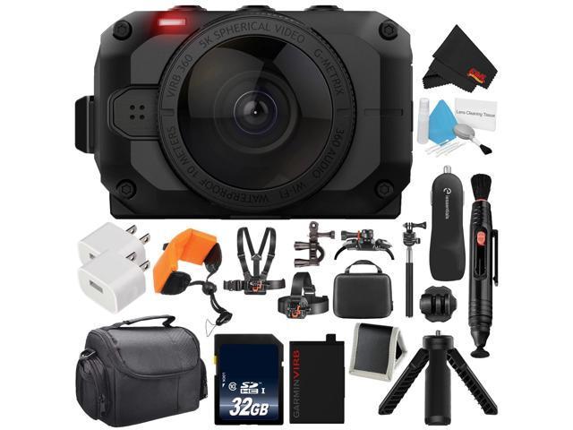 Garmin Virb 360 >> Garmin Virb 360 Rugged Waterproof 360 Degree Action Camera With