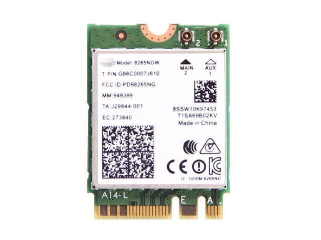 Wifi Card Wireless-AC 8265 802 11ac, Dual Band, 2x2 MU-MIMO Wi-Fi +  Bluetooth* 4 2 867Mbps NGFF M 2 MU-MIMO Wireless Card Not for  IBM/Lenovo/Thinkpad