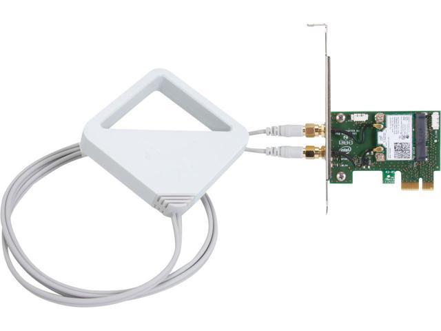Desktop Wireless-AC 8260 + Bluetooth 4 2 WLAN 802 11a/b/g/n/ac 300Mbps  (2 4GHz), 867Mbps (5GHz) WiDi PCI-e Wi-Fi Card Microsoft Windows 7,  Microsoft